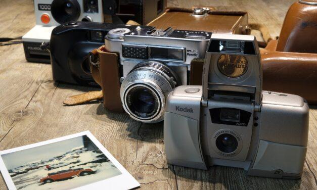 Gem minderne fra vandreturene med et polaroidkamera