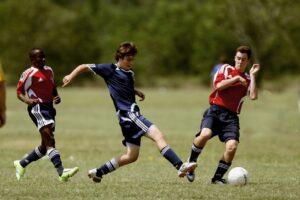 fodbold action