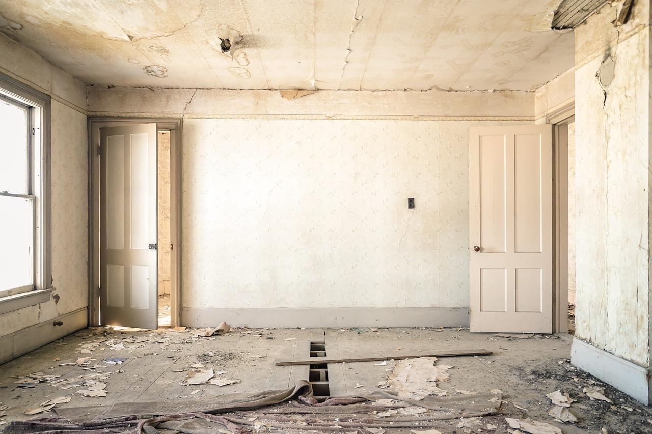 rum til renovering