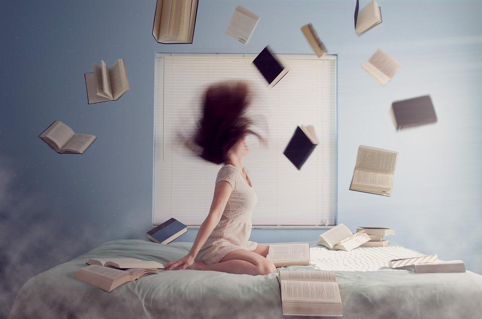 Et væld af studiebøger