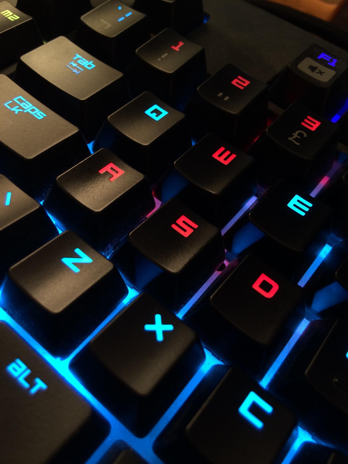 Tastatur-gamer-computer