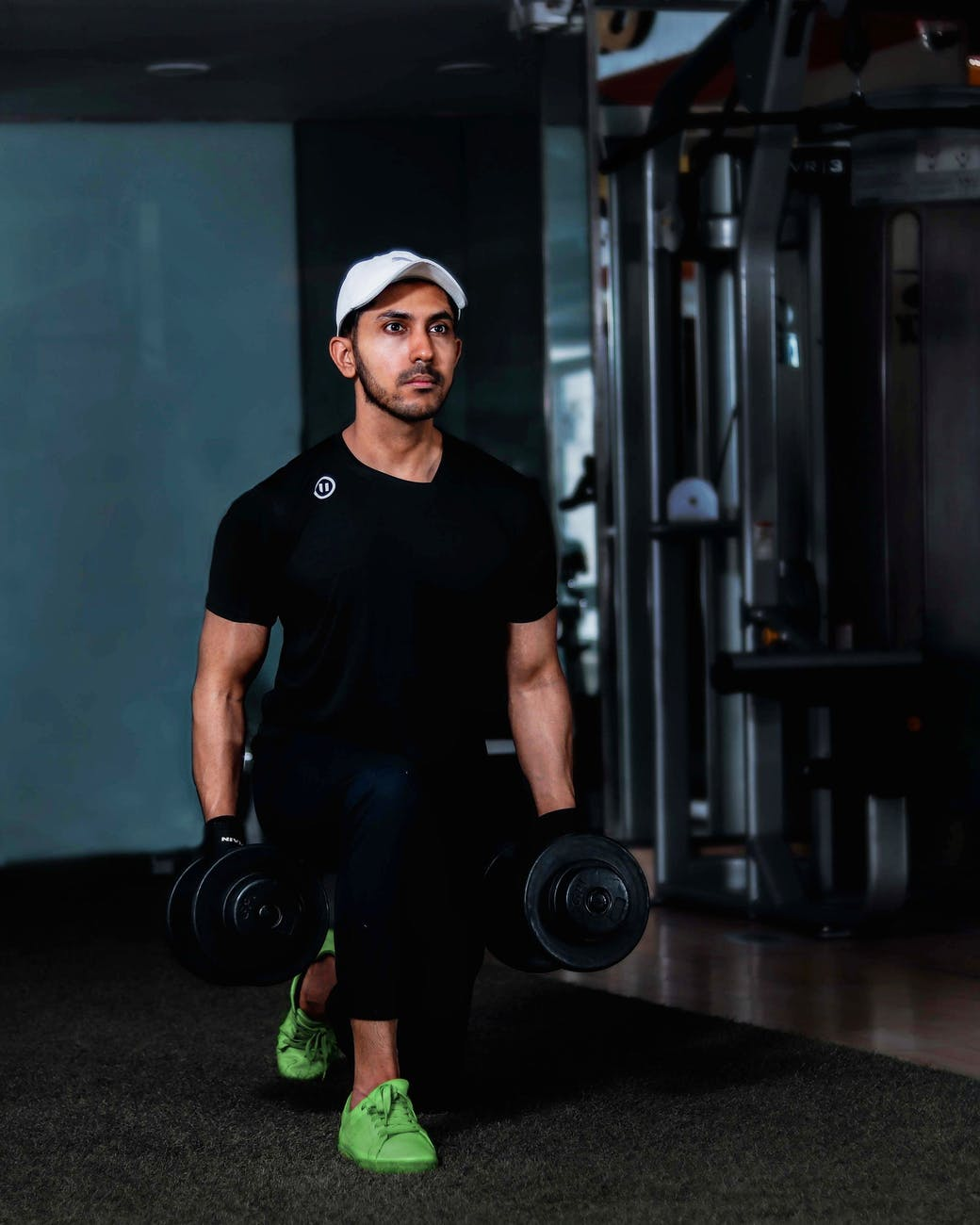 Motionerende mand