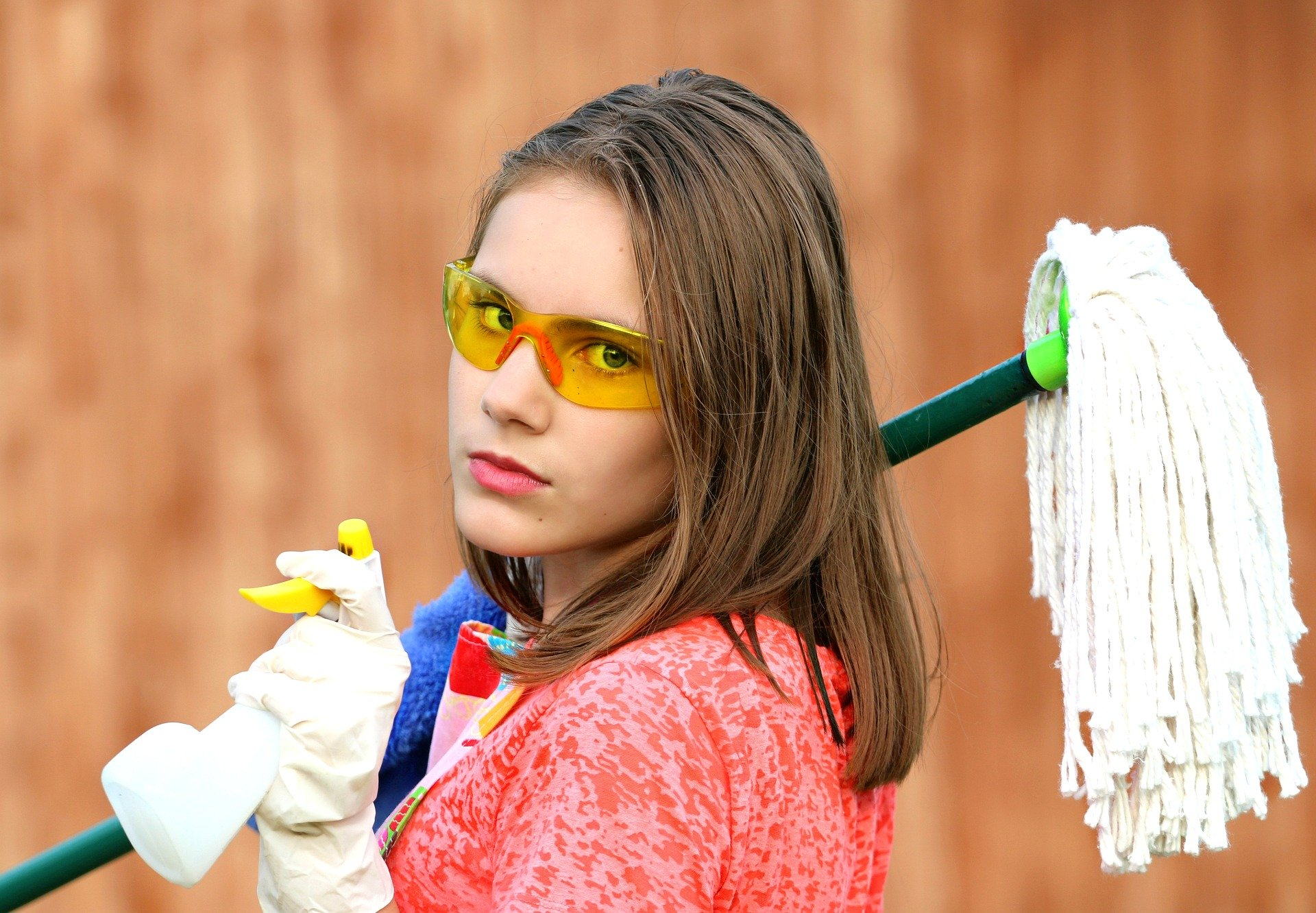 rengøringsdame