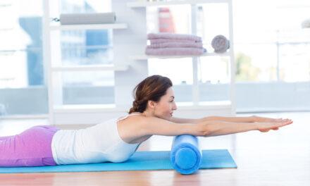 Brug af foam roller er vejen til en sund krop