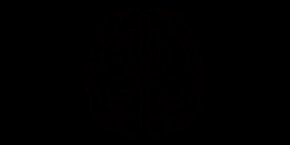 Hjerne med stærke arme