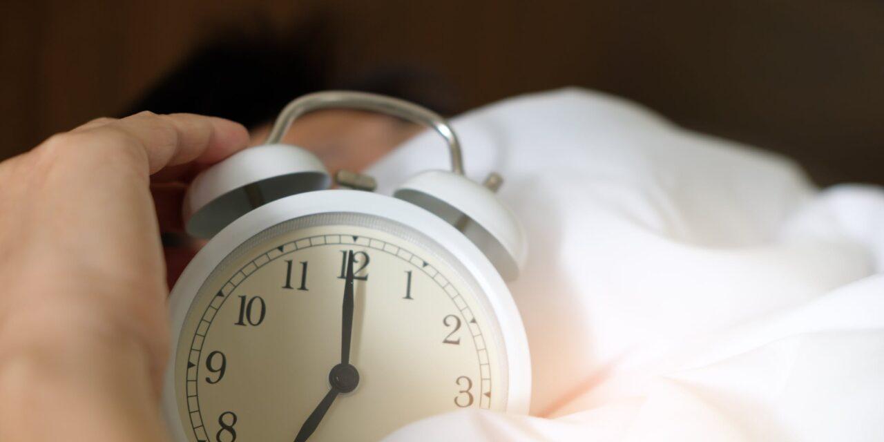 Søvn og motion går hånd i hånd
