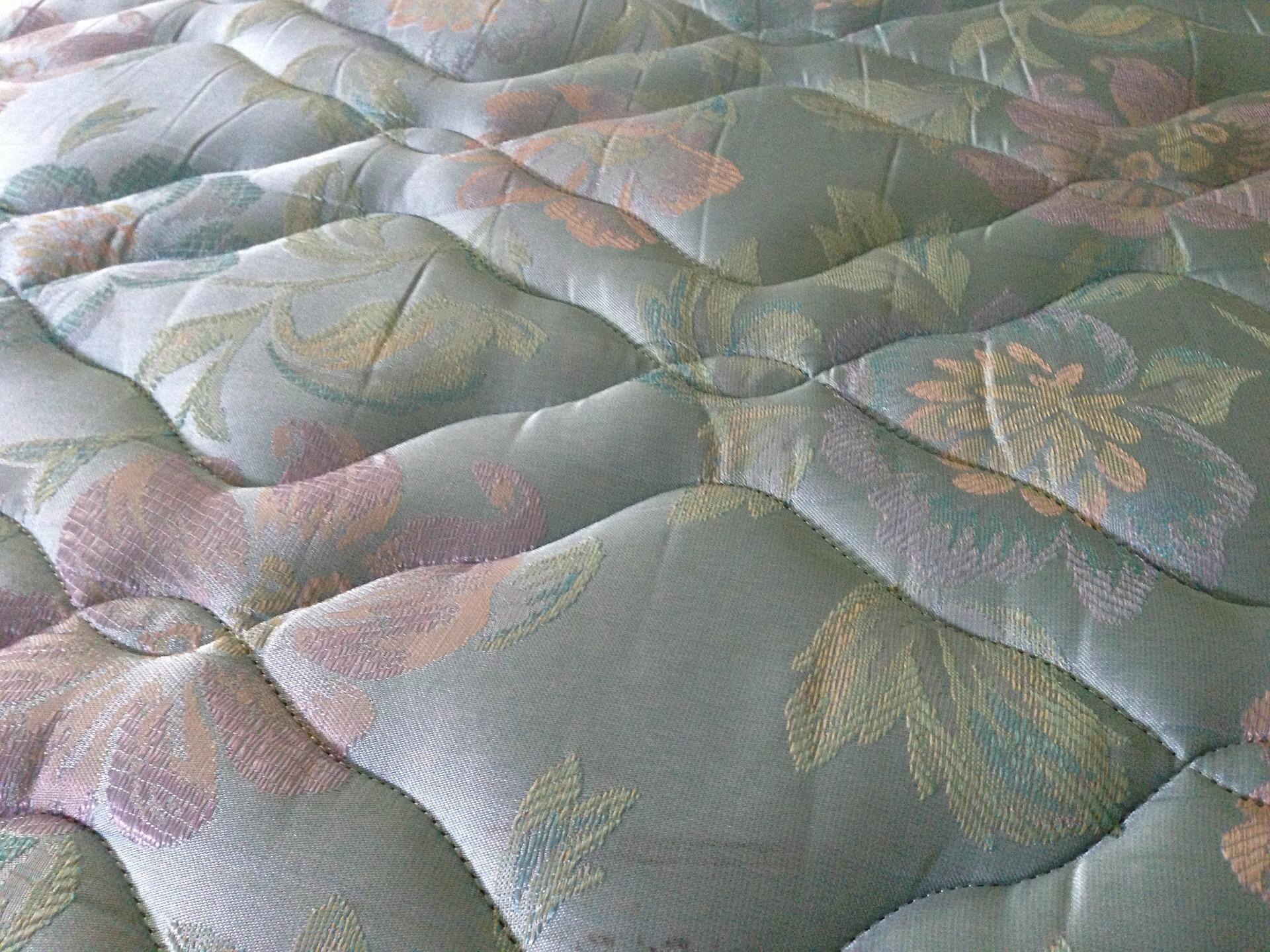 Mønstret blød madras