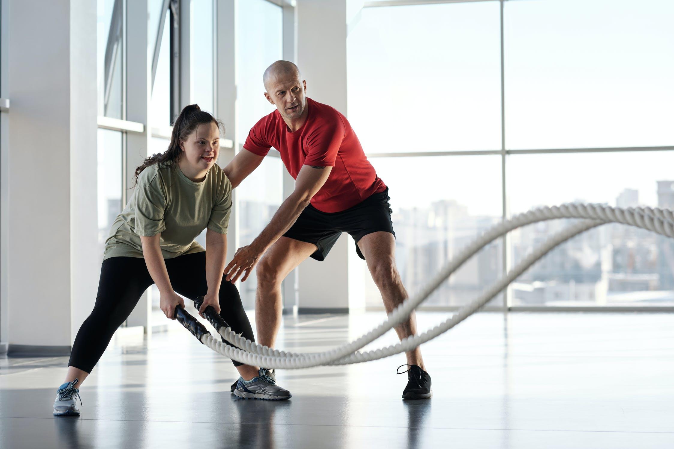motion på den sjove måde